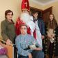 Wizyta przedświąteczna z Św. Mikołajem Szkolnego Koła Caritas